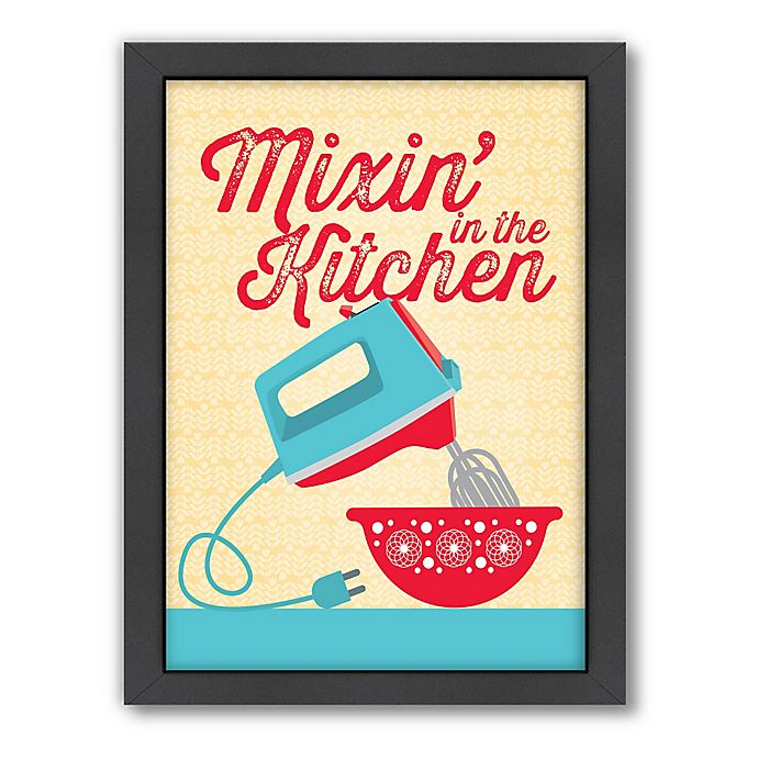 Kitchen Wall Decor Bed Bath And Beyond: Buy Americanflat Jilly Jack Designs Kitchen Mixer Wall Art