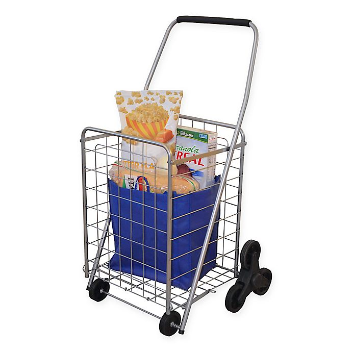 Alternate image 1 for 3-Wheel Stair Climbing Folding Cart