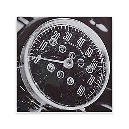 INK+IVY Speedometer Box Wall Art in Grey