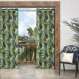 Parasol Key Biscayne Grommet Indoor/Outdoor Window Curtain Panel