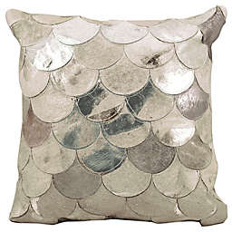 Mina Victory Metallic Balloons Square Throw Pillow