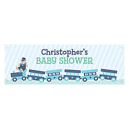 Personalized Baby Shower Banner