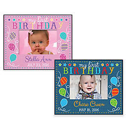 First Birthday Personalized Frame