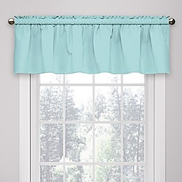 Eclipse Microfiber Rod Pocket Window Valance