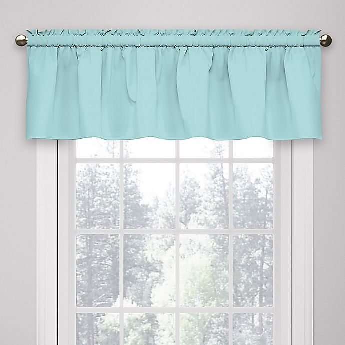 Alternate image 1 for Eclipse Microfiber Rod Pocket Window Valance