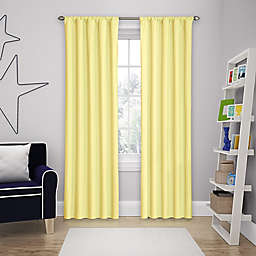 Solar Shield® Microfiber Rod Pocket Blackout Window Curtain Panel
