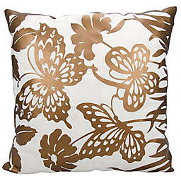Mina Victory Luminescence Butterfly Garden 20-Inch Square Throw Pillow