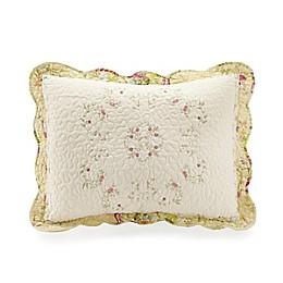 Mary Jane's Home Prairie Bloom Pillow Sham in Yellow