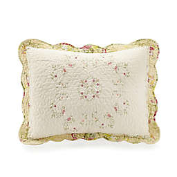 Mary Jane's Home Prairie Bloom Pillow Sham in Yellow