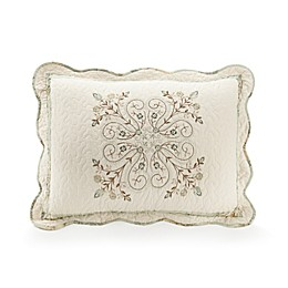 Mary Jane's Home Vintage Treasure Pillow Sham in Green