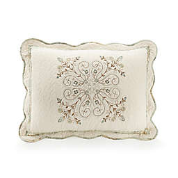 Mary Jane's Home Vintage Treasure Standard Pillow Sham in Teal