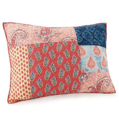 Jessica Simpson Grace Standard Pillow Sham In Blue Bed