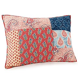 Jessica Simpson Grace Standard Pillow Sham in Blue