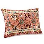 Jessica Simpson Tika Standard Pillow Sham in Coral/Red