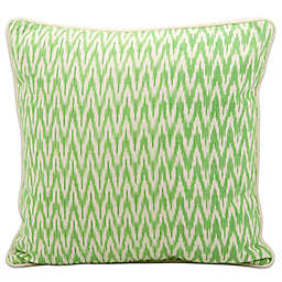 Mina Victory by Nourison Life Styles Ikat 18-Inch Square Throw Pillow