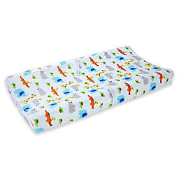 carter's® Safari Print Velboa Changing Pad Cover in Multicolor