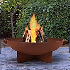 Real Flame® Anson Fire Pit in Rust