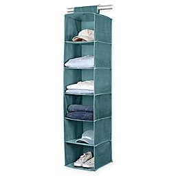 Simplify 6-Shelf Sweater Organizer in Blue