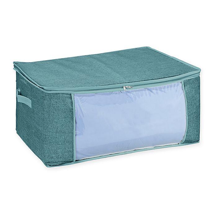 Alternate image 1 for Simplify Blanket Storage Bag in Blue