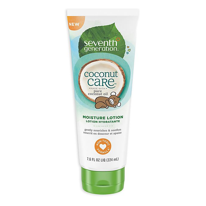 Alternate image 1 for Seventh Generation™ Coconut Care™ 7.6 oz. Moisture Lotion