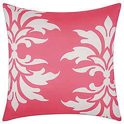 Mina Victory Floral Damask Square Outdoor Pillow