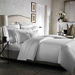 Kassatex Emilia Duvet Cover in White