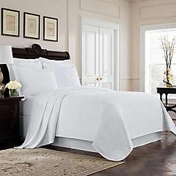 Williamsburg Richmond King Coverlet in White