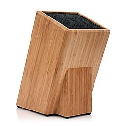 Kapoosh® Bamboo Knife Block in Bamboo