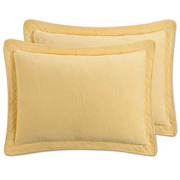 Williamsburg Richmond Standard Pillow Sham in Yellow