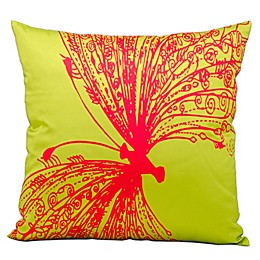 Mina Victory Freedom 18-Inch Square Indoor/Outdoor Throw Pillow