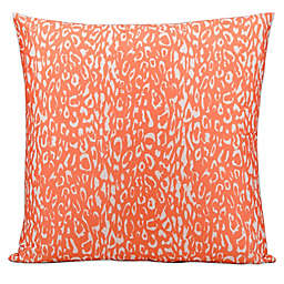 Mina Victory Leopard 20-Inch Square Outdoor Throw Pillow