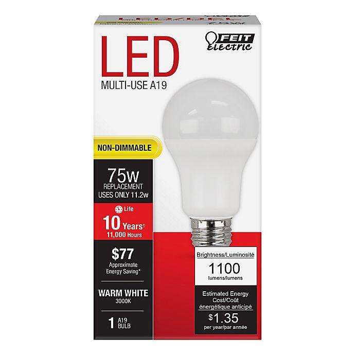 Feit Electric 75 Watt Equivalent Non Dimmable Omni Led Light Bulb