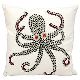 Mina Victory Octopus 18-Inch Square Outdoor Pillow