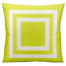 Mina Victory Squares 20-Inch Indoor/Outdoor Throw Pillow