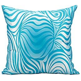 Mina Victory Zebra Indoor/Outdoor Throw Pillow