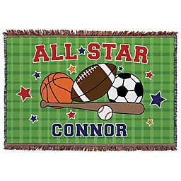 """All Star"" Throw Blanket"