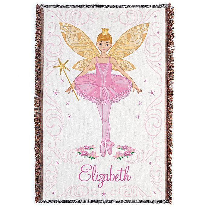 Alternate image 1 for Ballerina Fairy Throw Blanket
