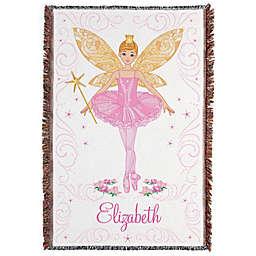 Ballerina Fairy Throw Blanket