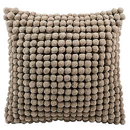 Mina Victory™ 20-Inch PomPom Square Throw Pillow