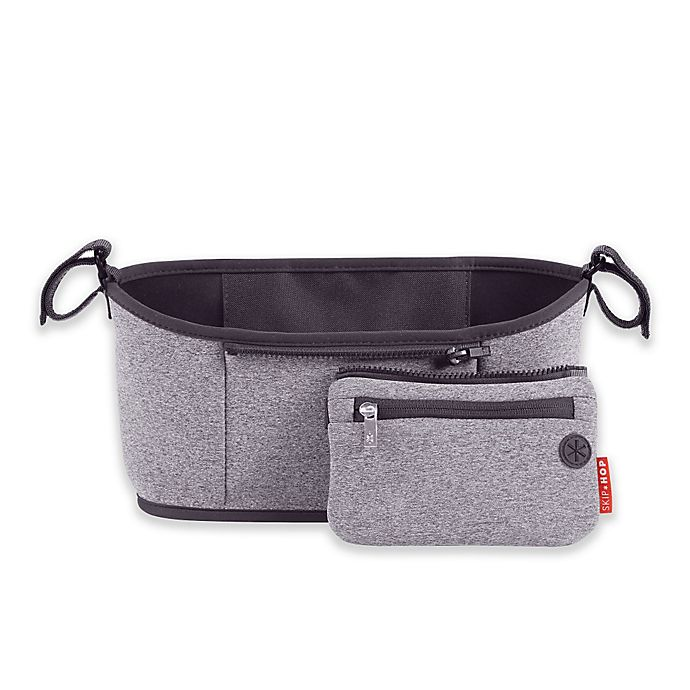 Alternate image 1 for SKIP*HOP® Grab & Go™ Stroller Organizer in Grey