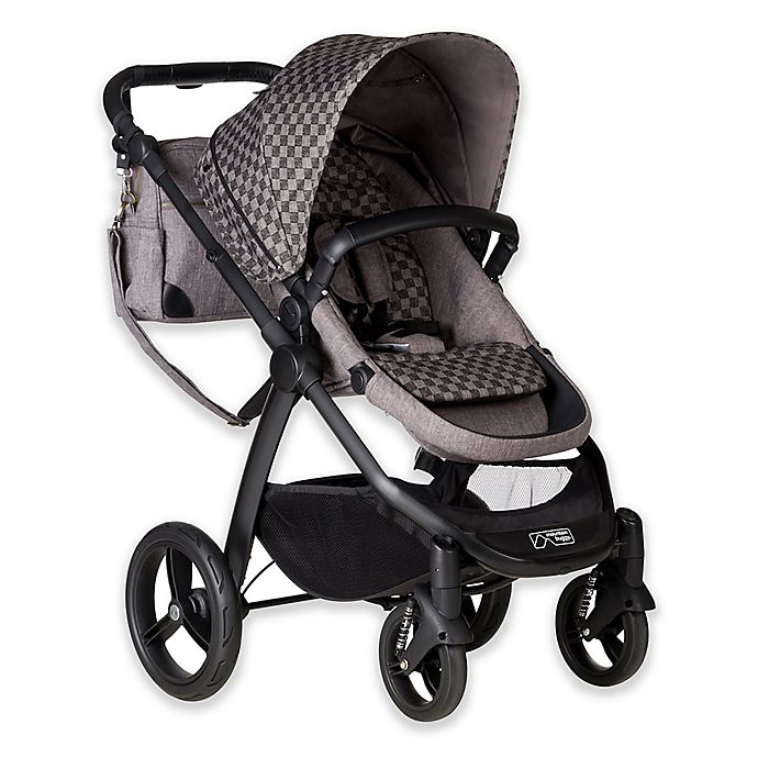 Alternate image 1 for Mountain Buggy® Cosmopolitan™ GEO Luxury Stroller in Charcoal
