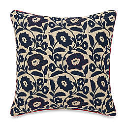 Spun™ by Welspun Blue Floral Square Throw Pillow