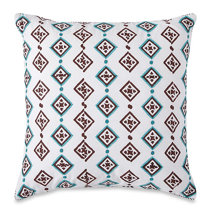 Alternate image 1 for SPUN™ by Welspun Square Dots 16-Inch Square Throw Pillow