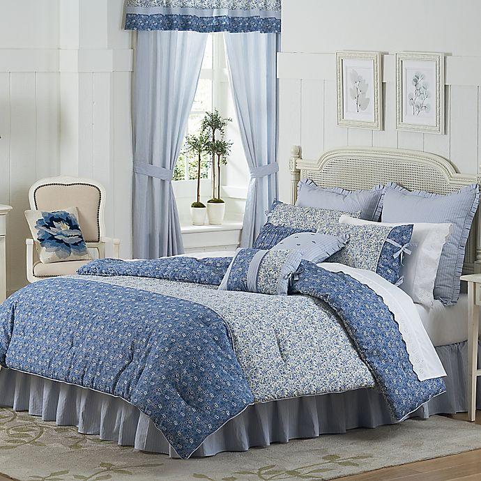 Alternate image 1 for Mary Jane's Home Dora Comforter Set in Blue
