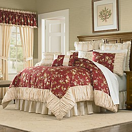 Mary Jane's Home Sunset Serenade Comforter Set in Red