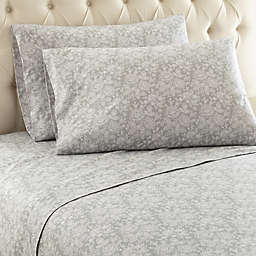 Micro Flannel® Enchantment Sheet Set in Grey