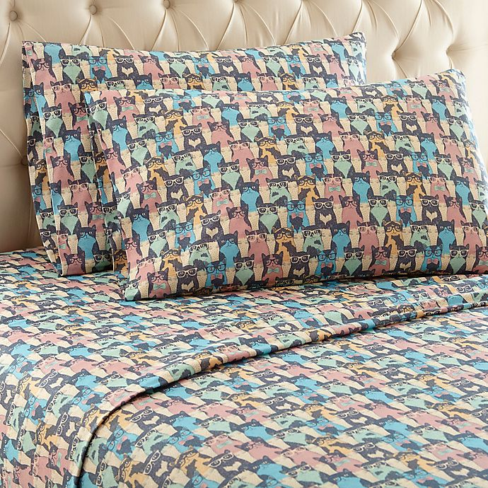 Alternate image 1 for Micro Flannel® Sheet Set