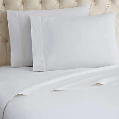Micro Flannel® Solid Sheet Set in White