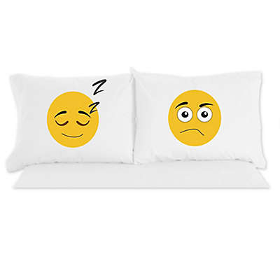 Micro Flannel®  Emojis Novelty Printed Pillowcases