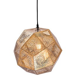 Bald Ceiling Lamp in Gold
